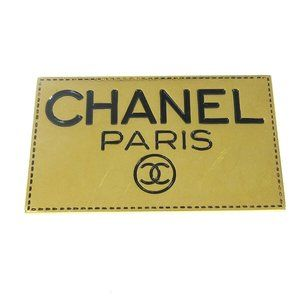 CHANEL CC Logos Brooch Pin Corsage Gold-Tone